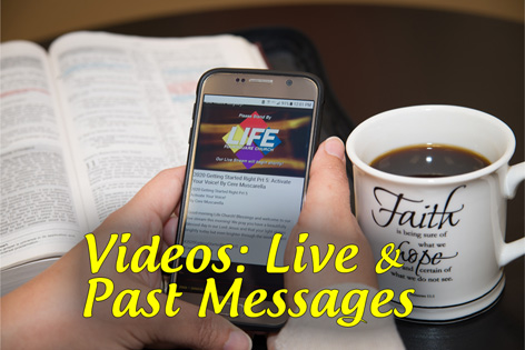 Life Stream and Past Video Messages